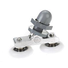 ROSENICE Sliding Door Pulley Roller Runner Wheel Replacement Double Wheeled Shower Room Glass