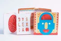 """Check out this @Behance project: """"GIFT OF DYSLEXIA"""" https://www.behance.net/gallery/34100026/GIFT-OF-DYSLEXIA"""