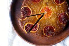 blood orange, almond and ricotta cake