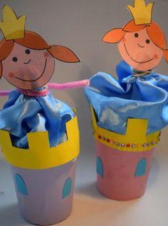 Pop up knutselen: een prinses in een kasteel knutselen Pop Can Crafts, Diy And Crafts, Crafts For Kids, Paper Crafts, Beer Can Art, Fairy Tale Crafts, Medieval, Tangled Birthday Party, Aluminum Can Crafts