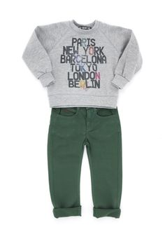 Baby Version Rock, Sunchild - Thalia & Bubu New Paris, Thalia, London, Rock, Sweatshirts, Baby, Fashion, Moda, Fashion Styles