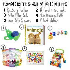 Baby stuff, 9 months