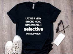 funny T-shirts gift mens womens slogan top humour sarcastic I/'m So Thankful