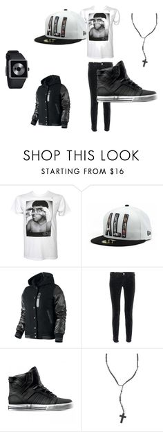 """""""Ali all day"""" by staylor0891 ❤ liked on Polyvore featuring Hype Means Nothing, New Era, NIKE, Notify, Supra, Metropark and Nixon"""