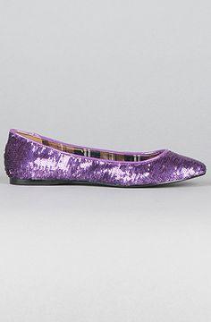 pretty purple shoes