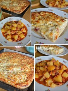 Hungarian Recipes, Bread Rolls, Casserole Recipes, Pizza, Macaroni And Cheese, Food And Drink, Healthy Eating, Cooking Recipes, Meals