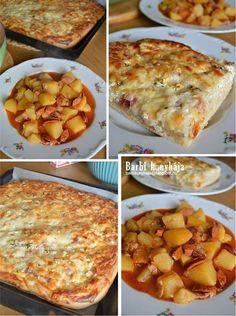 Annyi elég lesz, hogy nagyon szeretjük? :)) Szerintem vetekszik a pizzával, de hát úgy is nevezik, hogy a magyarok pizzája. Van aki Töki pomposnak,... Hungarian Recipes, Bread Rolls, Casserole Recipes, Pizza, Macaroni And Cheese, Food And Drink, Healthy Eating, Cooking Recipes, Snacks