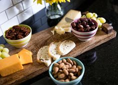 cheese board - the Get the Scoop Bowl Set is the perfect size to use when entertaining with your Close to Home Tray