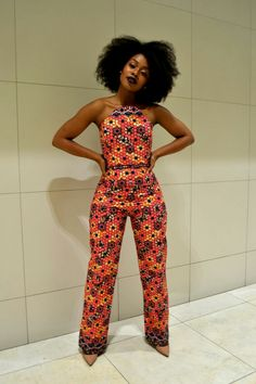 Nomzamo Mbatha in Ri.Ch Factory. #africanprint #africanfashion #blackgirl