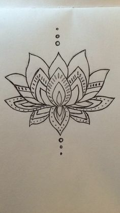 Simple Lotus Drawing Google Search Painting Ideas Pinterest