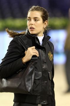Charlotte Casiraghi with Gucci jacket