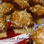Samoas Fudge for the Annual Fudge Throwdown