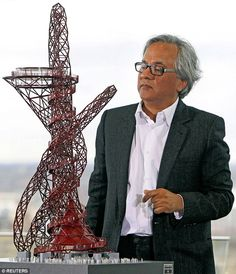 The world-famous sculptor Sir Anish Kapoor, who created the ArcelorMittal Orbit sculpture for the 2012 Olympics, has been given exclusive rights to use the colour