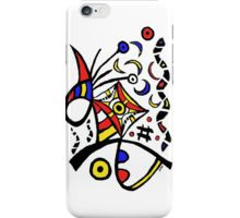 """iPhone Case/Skin with artwork """"Strawberry Moon Over New Haven"""""""
