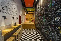 Дизайн ресторана  Trops.food fast food restaurant в Софии