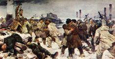 V. Serov, I.Serebryany, A.Kuznetsov. Breaking the Liningrad Blockade. January 18th, 1943