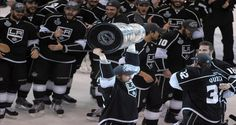 Los Angeles Kings Crown New Jersey Devils, 6-1, Win First Stanley Cup.