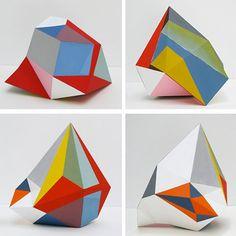 Lisa Hamilton. Paper color architecture