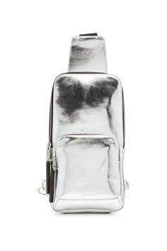 27a12db840 Metallic Leather Backpack | ALYX STUDIO Cuir Métallisé, Du Cuir Et Des  Hommes, Sacs