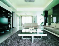 In the modern living room TV backdrop design, especially the living room, it is related to the family's wealth