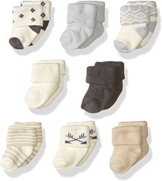 Amazon.com: Hudson Baby Basic Socks, 8 Pack, Aztec, 0-6 Months: Clothing Baby Boy Shoes, Boys Shoes, Baby Warmer, Baby Socks, Baby Feet, Unisex Baby, Fashion Brands, Clothes, Aztec