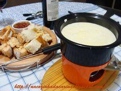 Fondue de Queijo | Na Cozinha da Carina