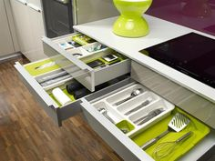 Органайзер-лоток для хранения столовых приборов