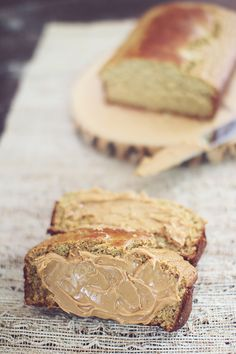 Peanut Butter Banana Bread | see personal docs for recipe