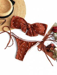Up to 80% OFF! Self-tie Knot Bandeau Bikini Set. #Zaful #Swimwear #Bikinis zaful,zaful outfits,zaful dresses,spring outfits,summer dresses,easter,cute,casual,fashion,style,bathing suit,swimsuits,one pieces,swimwear,bikini set,bikini,one piece swimwear,beach outfit,swimwear cover ups,high waisted swimsuit,tankini,high cut one piece swimsuit,high waisted swimsuit,swimwear modest,swimsuit modest,cover ups @zafulbikini Extra 10% OFF Code:zafulbikini