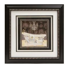 The Lady's Bathtub Framed Art Print | Kirklands