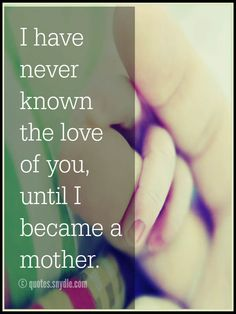 Mother Daughter Quotes with Image