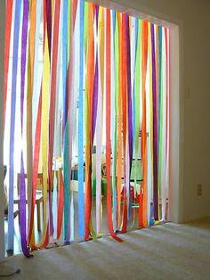 Through a Rainbow fun for a birthday party! run through a rainbow!fun for a birthday party! run through a rainbow! 1st Birthday Parties, Boy Birthday, Birthday Ideas, Surprise Birthday, Birthday Door, Carnival Birthday, Husband Birthday, Birthday Images, Birthday Quotes