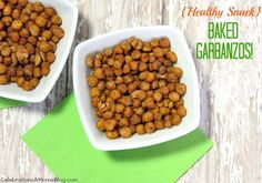 Baked Crispy Garbanzo Beans