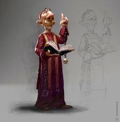ArtStation - The Priest - character design, Tomek Larek