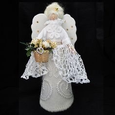 Luxury Christmas Decoration Traditional Angel - Handmade Exclusive, Paradis Terrestre - Luxury British Made Accessories & Homeware