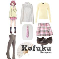 """Kofuku {Noragami}"" by happilyrainbow on Polyvore"