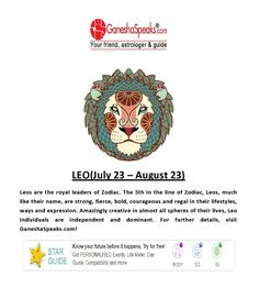 How can you analyze the presence of moon in Leo Zodiac Sign?