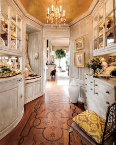 butler's pantry- wow!