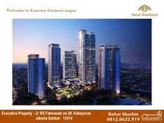 AMMI RESIDENCE at Essence Darmawangsa, Kebayoran. South Jakarta. The experience of living 5-star services through all the 5 senses. Information (copy paste the link below) http://bit.ly/AmmiResidence http://bit.ly/ammiresidence