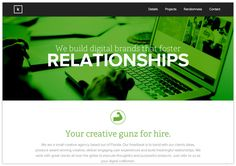 Web Design: Awesome Responsive Website #inspiration