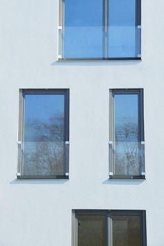 GM WINDOORAIL® Frameless - Mehrfamilienhaus in Deutschland