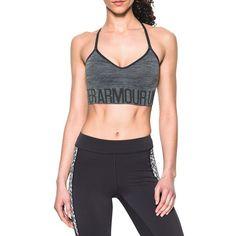 3efdac4c23fbb Under Armour HeatGear Seamless Streaky Heather Sports Bra ( 35) ❤ liked on Polyvore  featuring