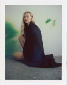 Floor Chair, Natural Light, Bean Bag Chair, Portrait Photography, Film, Polaroids, Instagram, Style, Women