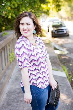 Summer Hair & Stitch Fix Top