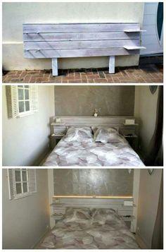 Tete de lit planche