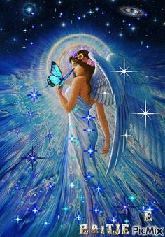 Beautiful Fantasy Art, Beautiful Fairies, Beautiful Gif, Beautiful Angels Pictures, Romantic Pictures, Fairy Pictures, Angel Pictures, Angel Gif, Angel Artwork