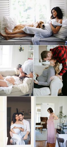 Oh Baby! 34 Beautiful Home Maternity Photos We Love! The Living Room