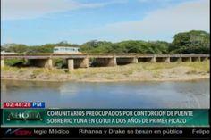 Comunitarios De Cotuí Preocupados Por Las Condiciones Del Puente A 2 Años De De Su Picazo