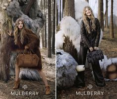 Mulberry Fall 2012 Ad Campaign Featuring Lindsey Wixon