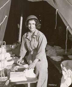 infirmière américaine lors du débarquement